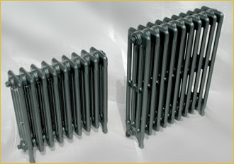 radiator ready to be powder coated